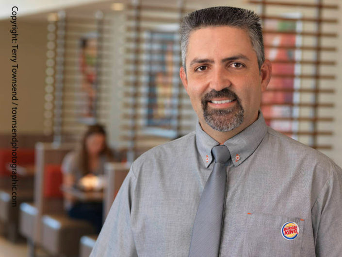 Burger King Corporate Photography